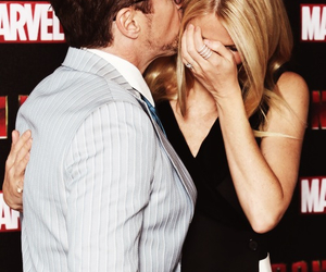 gwyneth paltrow, iron man, and robert downey jr image