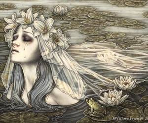 victoria frances, art, and gothic image
