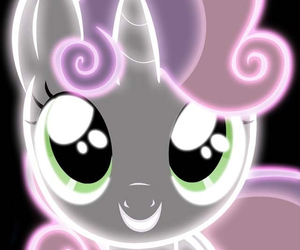 glow, my little pony, and neon image