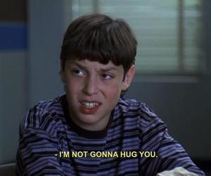 freaks and geeks, hug, and quotes image