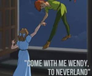 love, couple, and neverland image