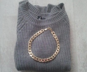 fashion, gold, and gray image