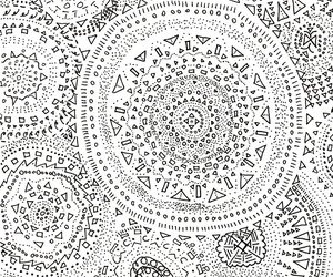 circle, draw, and mandala image