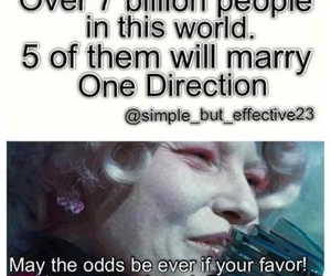 hunger games, one direction, and 7 billion people image