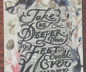 deeper, Hillsong, and oceans image