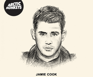 arctic monkeys and jamie cook image