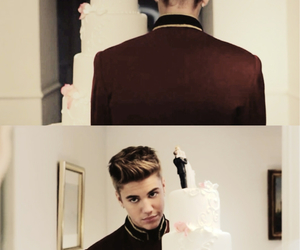 justin bieber, the key, and cake image