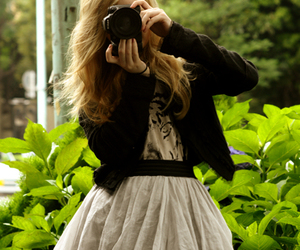 girl, blond, and fashion image