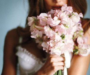 sexy, flowers, and Victoria's Secret image