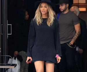 ciara, black, and style image