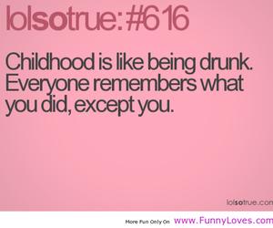 childhood, funny, and life image