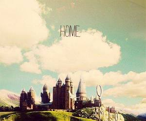 castle, Dream, and harry potter image