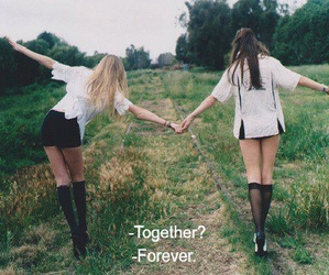 forever, together, and girls image