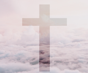 beautiful, clouds, and cross image