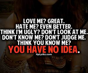 quote, hate, and text image