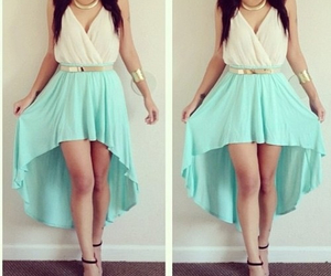 beauty, dress, and summer image