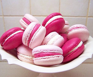 food, france, and macaroons image