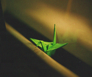 film, origami, and vintage image