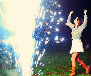 selena gomez, hit the lights, and fireworks image