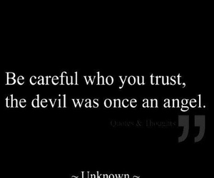 quote, angel, and Devil image