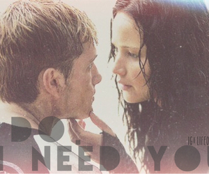 catching fire, i need you, and the hunger games image