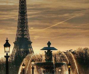 beauty, eiffel, and tower eiffel image