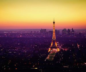 colours, dark, and eiffeltower image