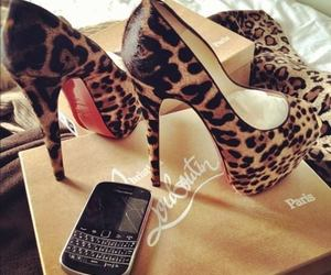 cellphone, girls, and louboutin image