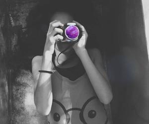 camera, me, and galaxy image