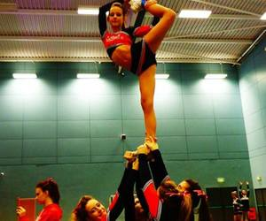 awesome, cheer, and Cheerleaders image