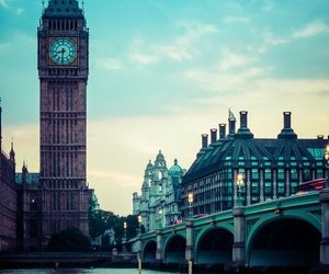 london, Big Ben, and Londres image
