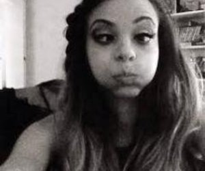 monkey face, selfie, and jade thirlwall image
