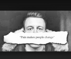 pain, quote, and change image
