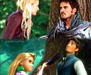 hooker, once upon a time, and tangled image