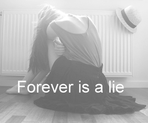 forever, girl, and lie image