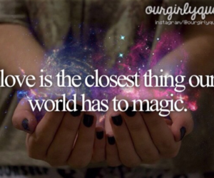 magic, love, and lovequotes image