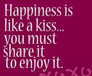 happines and kiss image