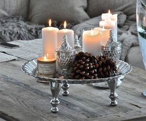 candle, decor, and house image