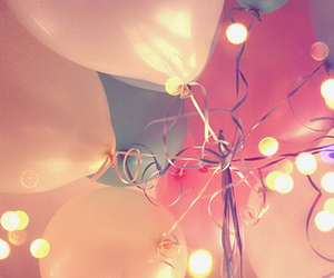 balloons, fiesta, and lights image