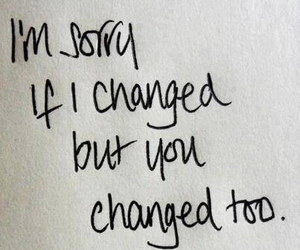 change, miss you, and sad image