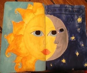 sun and moon image