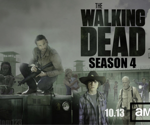 the walking dead, season 4, and norman reedus image