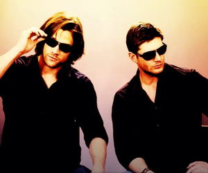 supernatural, dean winchester, and guy image