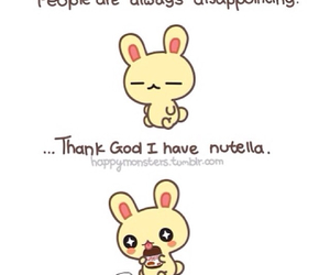 nutella, bunny, and people image