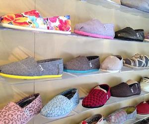 shoes, toms, and fashion image