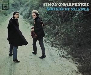 music, simon & garfunkel, and sound of silence image