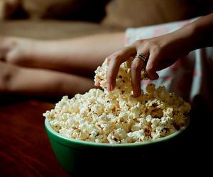 popcorn, food, and Pop cOrn image