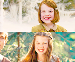 narnia and lucía pevensie image