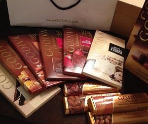 chocolate, delicious, and godiva image