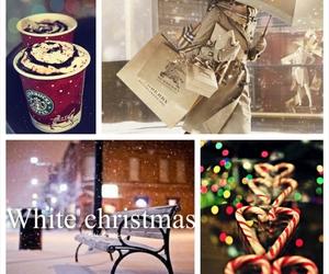 christmas, snow, and love image